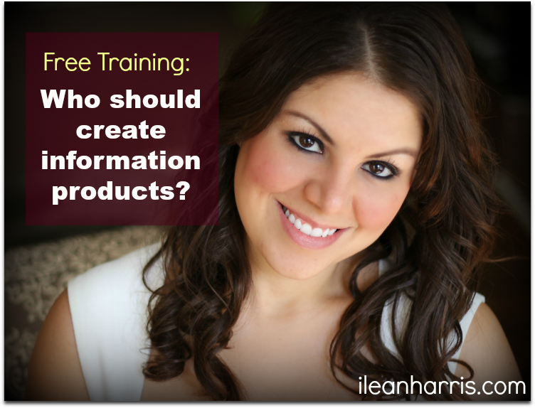 who should create information products