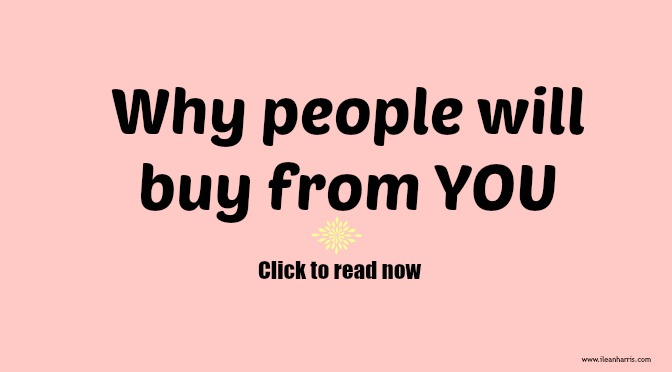 ppl will buy from you