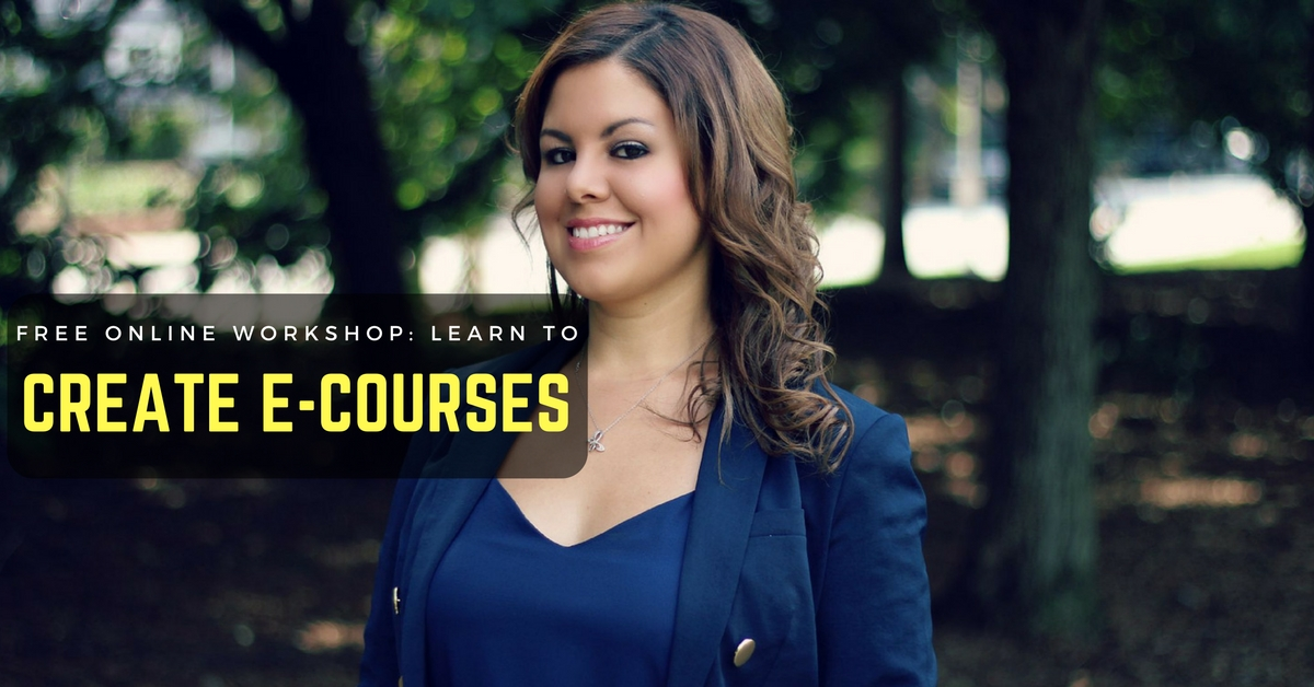 Learn how to create e-courses