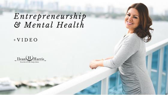 entrepreneurship and mental health