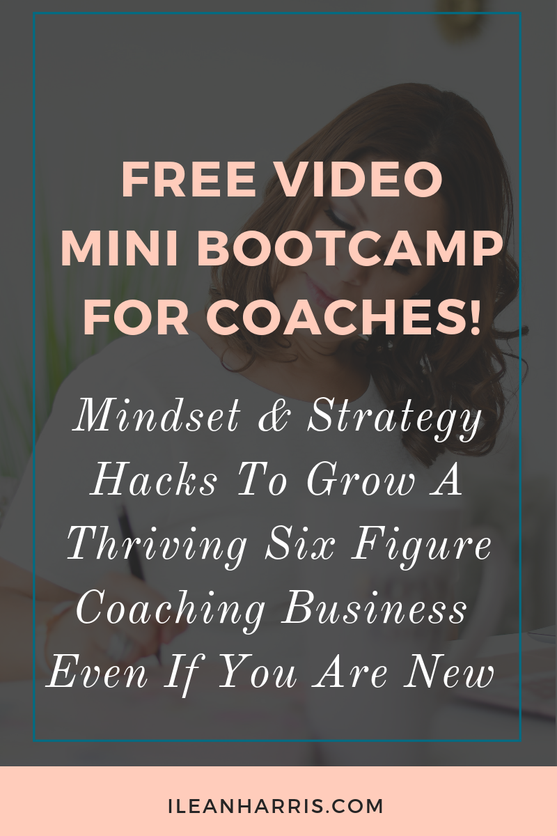 Mini Bootcamp for Coaches