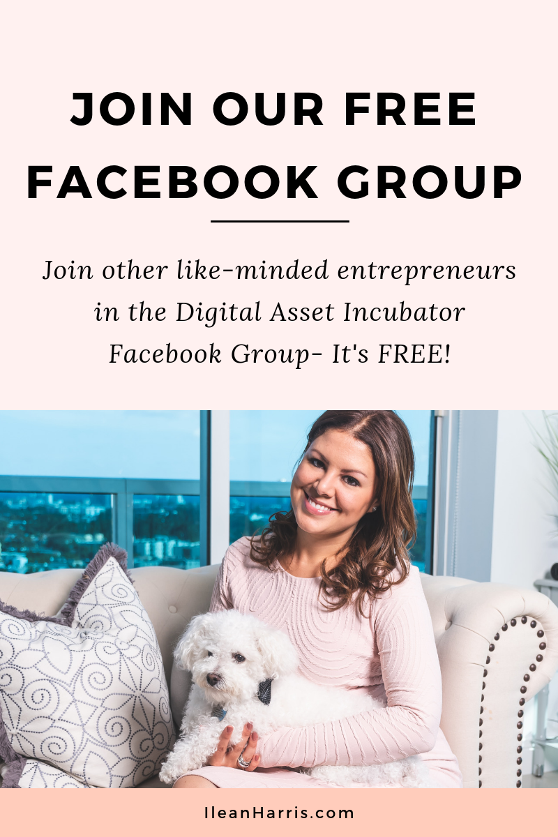 Digital Asset Incubator Facebook Group